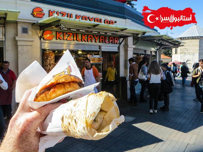 مراکز خرید میدان تقسیم استانبول,جاهای دیدنی استانبول,رستوران خوب در تکسیم استانبول