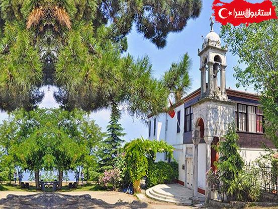 آثار تاریخی بیوک آدا,کلیسای حاجیا یورگی,دیدنی های جزیره ادالار